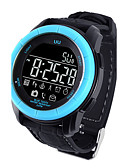 cheap Sport Watches-Men's Sport Watch Military Watch Smartwatch Digital 30 m Water Resistant / Water Proof Alarm Calendar / date / day Silicone Band Digital Charm Luxury Bangle Multi-Colored - Black Orange Blue