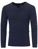 olcso Férfi pólók és kardigánok-Férfi Aktív Pulóver Egyszínű