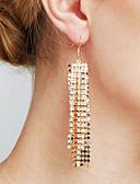 abordables Biquinis y Bañadores para Mujer-Mujer Diamante sintético Borla Largo Colgantes - Importante, Personalizado, Lujo Dorado / Plata Para Regalos de Navidad Boda Aniversario