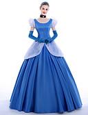 abordables Sombreros de  Moda-Princesas Queen Disfrace de Cosplay Ropa de Fiesta Baile de Máscaras Cosplay de películas  Vestido Guantes Enagua Cinta Navidad Halloween