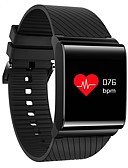 cheap Leggings-Men's Sport Watch Fashion Watch Dress Watch Digital 30 m Water Resistant / Water Proof Heart Rate Monitor Touch Screen Silicone Band Digital Charm Luxury Bangle Multi-Colored - White Black Red / LCD