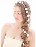 cheap Wedding Veils-Imitation Pearl Headbands / Head Chain with 1 Wedding / Special Occasion / Birthday Headpiece