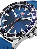 cheap Sport Watches-Men's Sport Watch Wrist Watch Quartz Black / Blue / Orange 30 m Calendar / date / day Creative Cool Analog Charm Luxury Casual Fashion Elegant - Black Orange Blue Two Years Battery Life