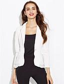 ieftine Blazere-Pentru femei Mărime Plus Size Blazer Sofisticat Mată,Bufantă
