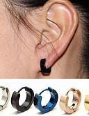 cheap Women's Pants-Earrings - Stainless Steel Silver / Dark Blue / Rose For Wedding / Party / Office / Career