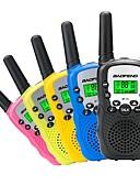 baratos Vestidos de Mulher-BAOFENG Rádio de Comunicação Portátil VOX Codificação CTCSS/CDCSS Lanterna Traseira LCD 3 - 5 km 3 - 5 km Walkie Talkie Dois canais de