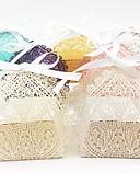 billige Gaveesker-Oval Perle-papir Gaveholder med Bånd Favoritt Esker