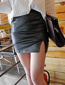 cheap Women's Skirts-Women's Club Bodycon Skirts - Solid Colored High Waist