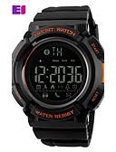 ieftine Ceas Sport-SKMEI Bărbați Ceas Sport Ceas La Modă Ceas de Mână Digital Negru Piloane de Menținut Carnea Negru Portocaliu Albastru