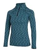 cheap Men's Blazers & Suits-Women's Running Baselayer - Green, Grey Sports Stripe Sweatshirt Yoga, Fitness, Gym Long Sleeve Activewear Wearable Stretchy
