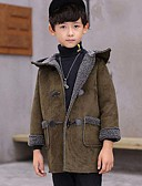 tanie Zegarki luksusowe-Dzieci Dla chłopców Solidne kolory Długi rękaw PU / Bawełna Garnitur / marynarka