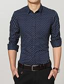 cheap Men's Shirts-Men's Cotton Shirt Print