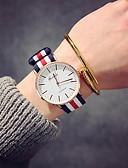 cheap Quartz Watches-Women's Wrist Watch Chinese Nylon Band Luxury / Vintage / Casual Black / Brown