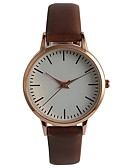 cheap Quartz Watches-Women's Fashion Watch Japanese / PU Band Casual / Elegant Brown