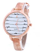 abordables Relojes de Moda-Mujer Reloj de Pulsera Chino Reloj Casual PU Banda Encanto / Casual / Moda Negro / Blanco / Azul / Un año / TY 377A