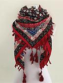 זול צעיפים לנשים-מרובע כותנה דפוס בגדי ריקוד נשים / סתיו / חורף