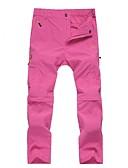 זול שמלות נשים-בגדי ריקוד נשים מכנסיים לטיולי הליכה חיצוני ייבוש מהיר עמיד UV נשימה משקל קל מכנסיים מתפרקים מכנסיים ציד צעידה דיג טיפוס קמפינג