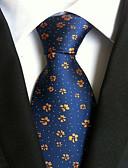 olcso Férfi nyakkendők és csokornyakkendők-Férfi Nyomtatott Munkahelyi Alap - Nyakkendő