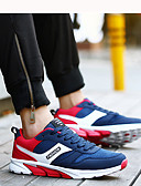 cheap Men's Underwear & Socks-Men's Light Soles PU(Polyurethane) Spring / Fall Athletic Shoes Walking Shoes Dark Blue / Black / Red / Black / Blue