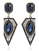 cheap Women's Skirts-Women's Synthetic Sapphire Drop Earrings - Zircon Personalized, Fashion Dark Blue For Party Stage