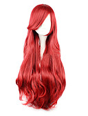 cheap Cocktail Dresses-Princess Cosplay Wigs Men's Women's Halloween Carnival Festival / Holiday Outfits Red Solid Colored