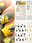 cheap Women's Skirts-Sticker Nail Stamping Template Daily Fashion High Quality