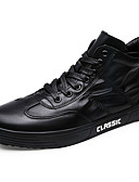 cheap Men's Hoodies & Sweatshirts-Men's Rubber Spring / Fall Comfort Sneakers White / Black / Red