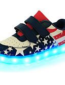olcso Kvarc-Fiú Cipő Bőr Tavasz Kényelmes / Újdonság / Világító cipők Tornacipők Átlátszó ragasztószalag / LED mert Kék