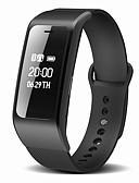 זול להקות Smartwatch-Smart צמיד ל iOS / Android כלוריות שנשרפו / המתנה ארוכה / שיחות ללא מגע יד / עמיד במים / מד צעדים מד צעדים / מזכיר שיחות / מעקב שינה / תזכורת בישיבה / מצאו את המכשירשלי / Alarm Clock / שליטה במצלמה