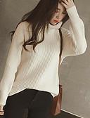 preiswerte Damen Pullover-Damen Langarm Pullover-Solide Rollkragen
