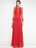 preiswerte Damen Kleider-Damen Boho Swing Kleid Solide Maxi