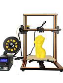 halpa Morsiusneitojen mekot-uskottavuus 3d cr-10s 3d-tulostin iso koko työpöytä diy tulostin 150mm / s lcd -näyttö näyttö SD-kortilla off-line-tulostustoiminto