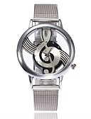 cheap Quartz Watches-Women's Wrist Watch Chinese Casual Watch Alloy Metal Band Luxury / Casual / Fashion Silver / One Year