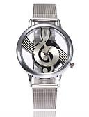 preiswerte Quartz-Damen Quartz Armbanduhr Chinesisch Armbanduhren für den Alltag Legierungmetall Band Luxus Freizeit Kleideruhr Modisch Silber
