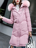 cheap Women's Downs & Parkas-Women's Long Padded - Solid Colored