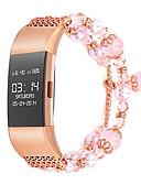 tanie Sukienki-Watch Band na Fitbit Charge 2 Fitbit Design biżuterii Metal Opaska na nadgarstek