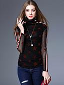 ieftine Bluze Damă-Pentru femei Guler Pe Gât Tricou Vintage - Geometric