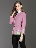 cheap Women's Blazers & Jackets-8CFAMILY Women's Sophisticated Boho Cloak/Capes Print Embroidered