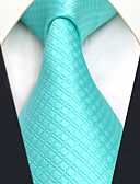 cheap Men's Ties & Bow Ties-Men's Party Work Basic Rayon Necktie - Solid Colored Jacquard