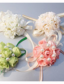 "cheap Flower Girl Dresses-Wedding Flowers Wrist Corsages Wedding Special Occasion Silk 0.39""(Approx.1cm)"