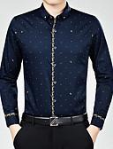 billige Hettegensere og gensere til herrer-Skjorte Trykt mønster Chinoiserie Herre