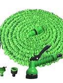 baratos Corpete-mangueira de água de jardim com bocal de pulverização expandindo arma de água flexível lavagem de carro com bico