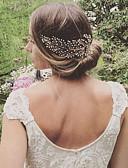 billige Brudekjoler-Legering Hair Combs med Perle 1pc Bryllup / Fest / aften Medaljon