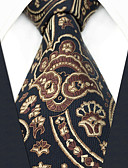cheap Men's Ties & Bow Ties-Men's Party / Work Necktie - Floral / Geometric / Jacquard