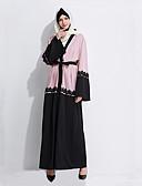 זול שמלות נשים-קוספליי השמלה הערבי בגדי ריקוד נשים פסטיבל / חג תחפושות ליל כל הקדושים תלבושות ורוד גאומטרי