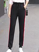 ieftine Pantaloni de Damă-Pentru femei Simplu Pantaloni Sport Pantaloni Bloc Culoare