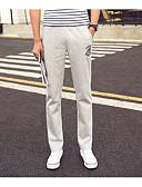זול מכנסיים ושורטים לגברים-בגדי ריקוד גברים פעיל מכנסי טרנינג מכנסיים אחיד