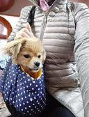 tanie Zegarki mechaniczne-Pies plecak Zwierzęta domowe Torby Przenośny Groszki Dark Blue Czerwony Niebieski