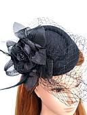 baratos Macacões & Macaquinhos-Pena / Rede Fascinadores / Chapéus com Penas / Pêlo 1pç Casamento / Ocasião Especial Capacete