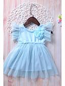 זול מכנסיים ושורטים לגברים-שמלה ללא שרוולים אחיד חגים בנות פעוטות / חמוד